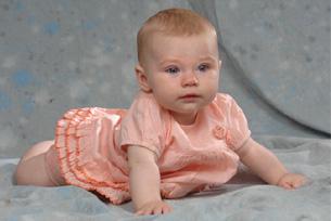 Baby - Rosa Kleid